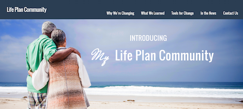 The LifePlanCommunity.org website