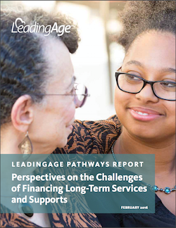 Report: Catastrophic option may be best for LTSS financing