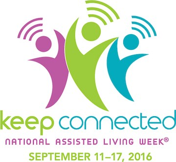 'Keep Connected' is theme for National Assisted Living Week