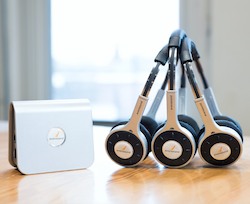 The GLS 2.0 wireless group listening system.