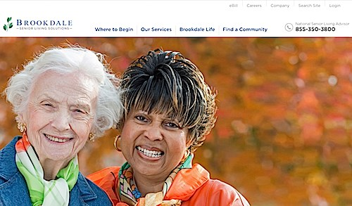 Brookdale unveils $4 million website redesign
