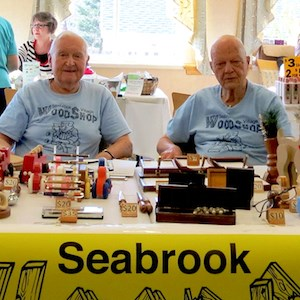 In Tinton Falls, NJ, a holiday bazaar showcased the talents of residents of Seabrook.