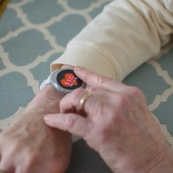 Smartwatches will provide caregivers, residents and family members with real-time health and wellness information while simultaneously allowing the health system to track data remotely.
