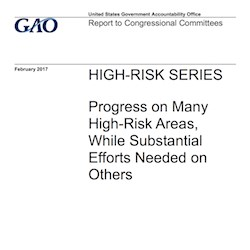 GAO report highlights four high-risk healthcare areas