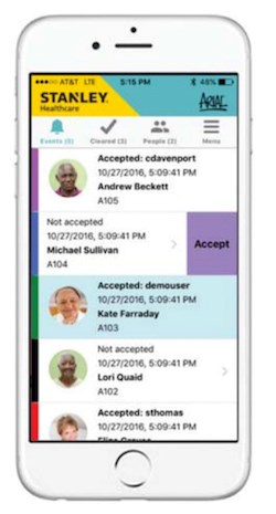 Stanley emergency call platform now has mobile app