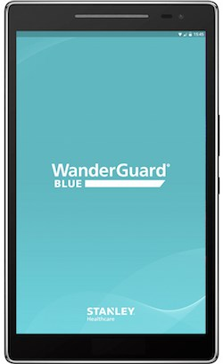 The WanderGuard Blue manager.