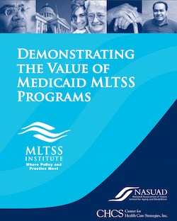 Person-centered MLTSS programs require data: report