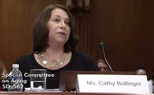 """The federal government can leverage better planning as it approves and awards types of funding for affordable housing,"" Cathy A. Bollinger told Senate Special Committee on Aging members."
