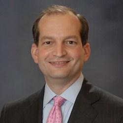 Secretary of Labor R. Alexander Acosta was sworn on April 28. OSHA is part of the Labor Department.