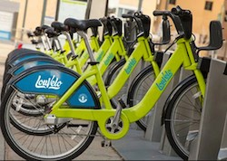 Atria Senior Living is a sponsor of the LouVelo bike-sharing program.