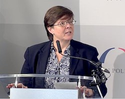BPC Health Policy Director Katherine Hayes speaks at a July 11 event.