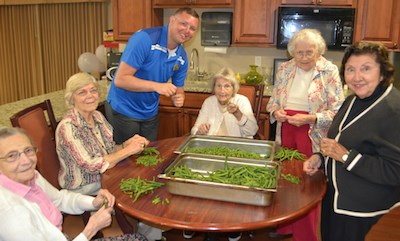 Senior living finds time is ripe for focus on food