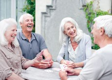 Friendships help inoculate residents against mental decline