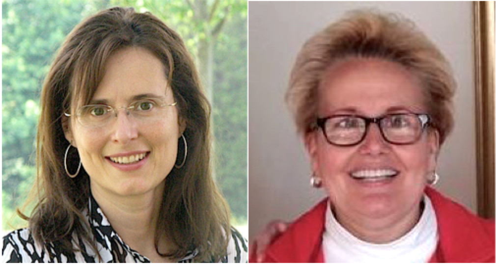 Linda Christiansen, JD, MBA, left, and Joanie Sompayrac, JD