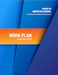 The Office of Inspector General work plan for 2016.
