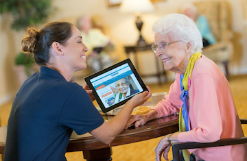 Brookdale expanding technology programs for residents