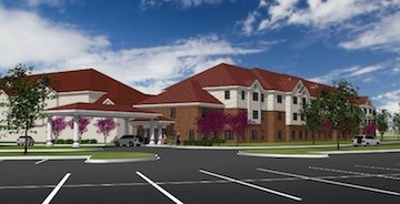 This artist's rendering depicts Robin Run Village, which has completed an $11 million expansion.