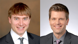 Shane Goodman, left, and Matthew Kern