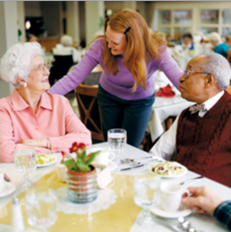 Dining approach could help those with dementia