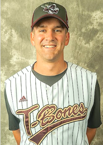 Casey Barnes (Photo courtesy of the Kansas City T-Bones)