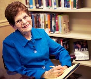 Ruth Feinstein (Photo courtesy of GlynnDevins)