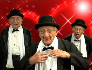 "Residents of Brandywine Senior Living Princeton perform to Maroon 5's ""Sugar."""