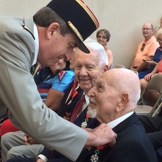 The Fountains resident Eric Reilinger becomes the newest knight of the French Legion of Honor.