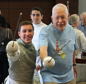 Seniors celebrate athletics