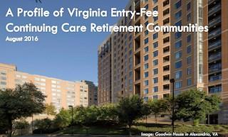 Report details Virginia CCRC characteristics