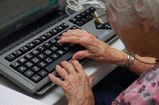 Web portal usage still encounters resistance from seniors: poll