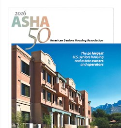 Brookdale tops ASHA 50 lists of biggest seniors housing owners, operators