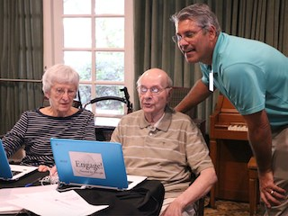 Program engages residents with technology