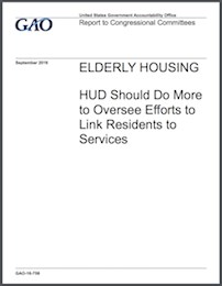 HUD to improve oversight of efforts to connect elderly with services