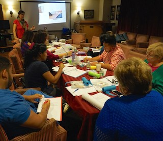 Jewish Home Assisted Living nursing staff members receive IV training. (Photo: Jewish Home Family)