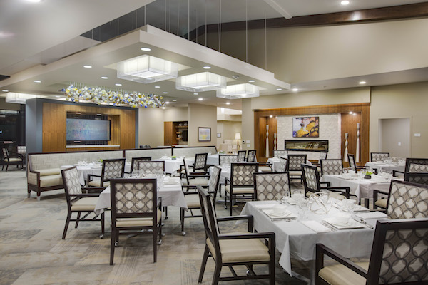 Dining concepts in senior living for Nursing home dining room ideas