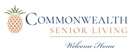 Commonwealth Senior Living's rebranding includes a new logo and color palette.