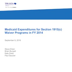 Medicaid spent $776 million on HCBS waivers for older adults in 2014, CMS says