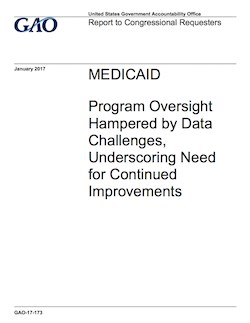 Data issues complicate Medicaid oversight, GAO says
