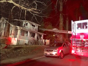 Two people died after a fire at Kozy Kottage. (Photo courtesy of the Baltimore Fire Department)