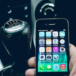 60% of older owners of cellphones use them while driving
