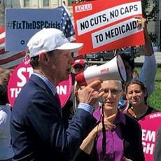 Operators join march against possible Medicaid cuts