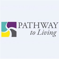 Pathway to Living's new logo.