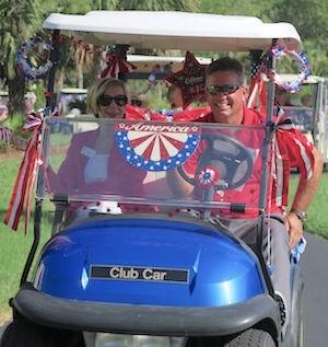 Patriotism on parade
