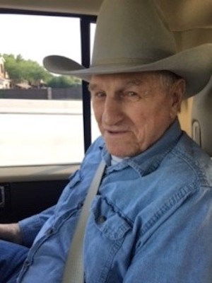 Vitality Court at Texas Star resident Willis Cotant wears his cowboy hat on the way to visit a ranch.