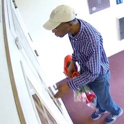 Flower-wielding man may have stolen $100,000 in valuables from senior living residents, authorities say