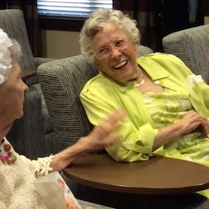 "A scene from ""The Solana Vintage Park: The Move,"" one of the submissions to Brookdale's Celebrate Aging Film Festival."