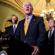 Senate Majority Whip John Cornyn