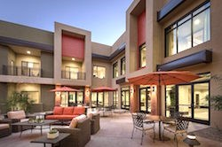 A courtyard at LivGenerations Ahwatukee, named best 55+ Assisted Living or Special Needs Community in the National Association of Home Builders' 2018 Best of 55+ Housing Awards, bestowed Tuesday.