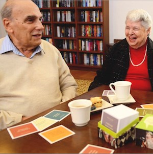 Atria Senior Living residents share stories using Atria StoryWise cards.