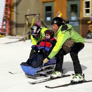 "Brookdale resident Eleanor ""Ellie"" Ross recently skied thanks to Wish of a Lifetime, founded by two-time Olympic skier Jeremy Bloom."